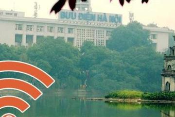 Cách truy cập WiFi miễn phí quanh hồ Hoàn Kiếm dịp 2/9