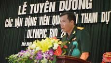 Bộ Quốc phòng tuyên dương xạ thủ Hoàng Xuân Vinh