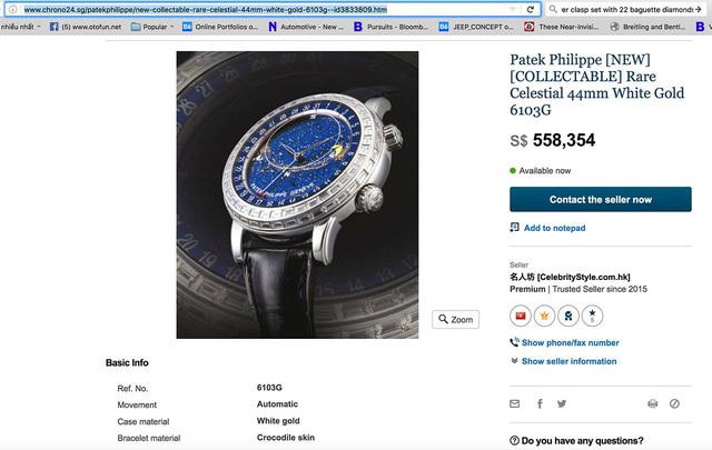Khám phá đồng hồ 10 tỷ của đại gia Minh Nhựa