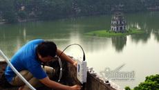 Phố đi bộ quanh hồ Gươm: Wifi miễn phí
