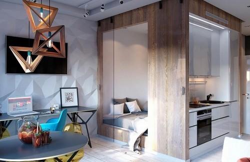20160831144820 can ho7 Ngắm nhìn bên trong căn hộ hơn 30m2 với thiết kế siêu thông minh