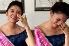 Chuyện cảm động khiến Á hậu Thùy Dung bật khóc nức nở