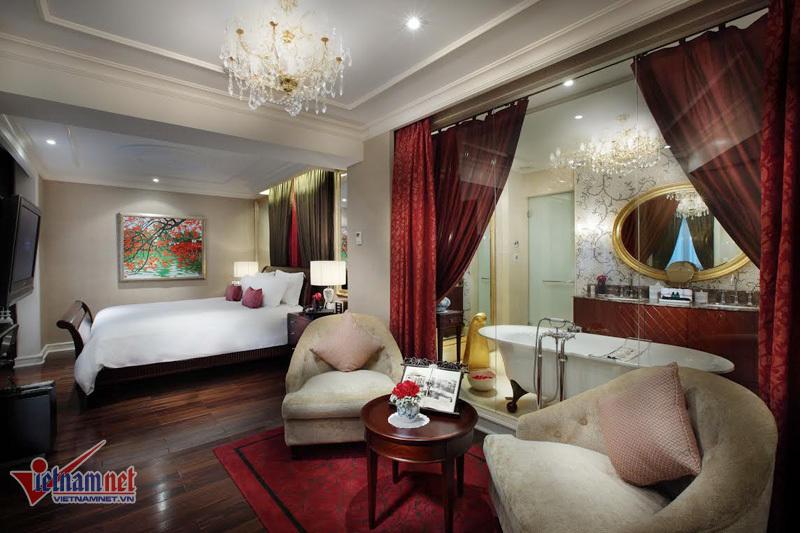 Phòng ở xa hoa của Tổng thống Pháp tại Hà Nội