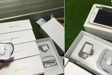 Xuất hiện hộp đựng iPhone 7 cùng tai nghe EarPods không dây