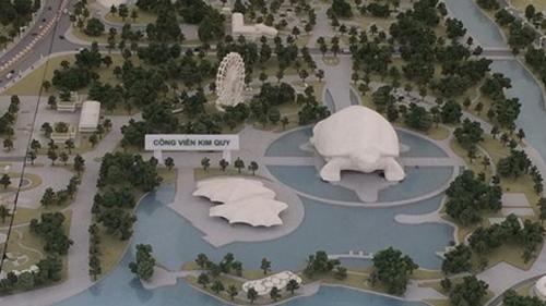 công viên Disneyland, công viên nghìn tỷ, Công viên văn hóa du lịch vui chơi giải trí Kim Quy