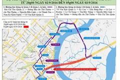Cấm đường khu trung tâm Sài Gòn để phục vụ lễ 2/9
