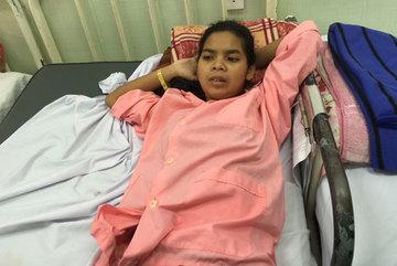 Cô gái câm cần giúp 50 triệu để mổ tim bẩm sinh