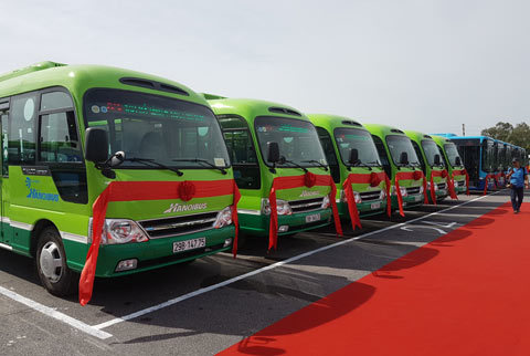 Hà Nội mở 2 tuyến xe buýt, wifi miễn phí - ảnh 2