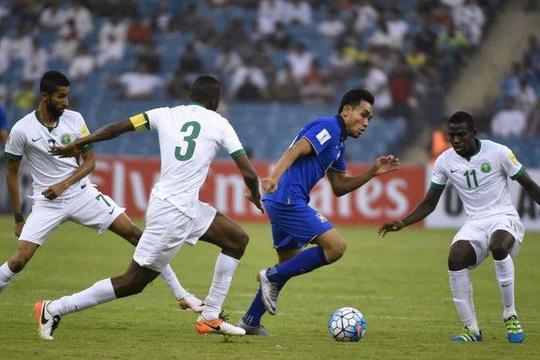 Thái Lan thua đau Ả Rập Saudi ở vòng loại World Cup 2018