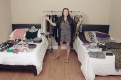 Du lịch 2/9: Xếp trăm món đồ vào một vali trong tích tắc