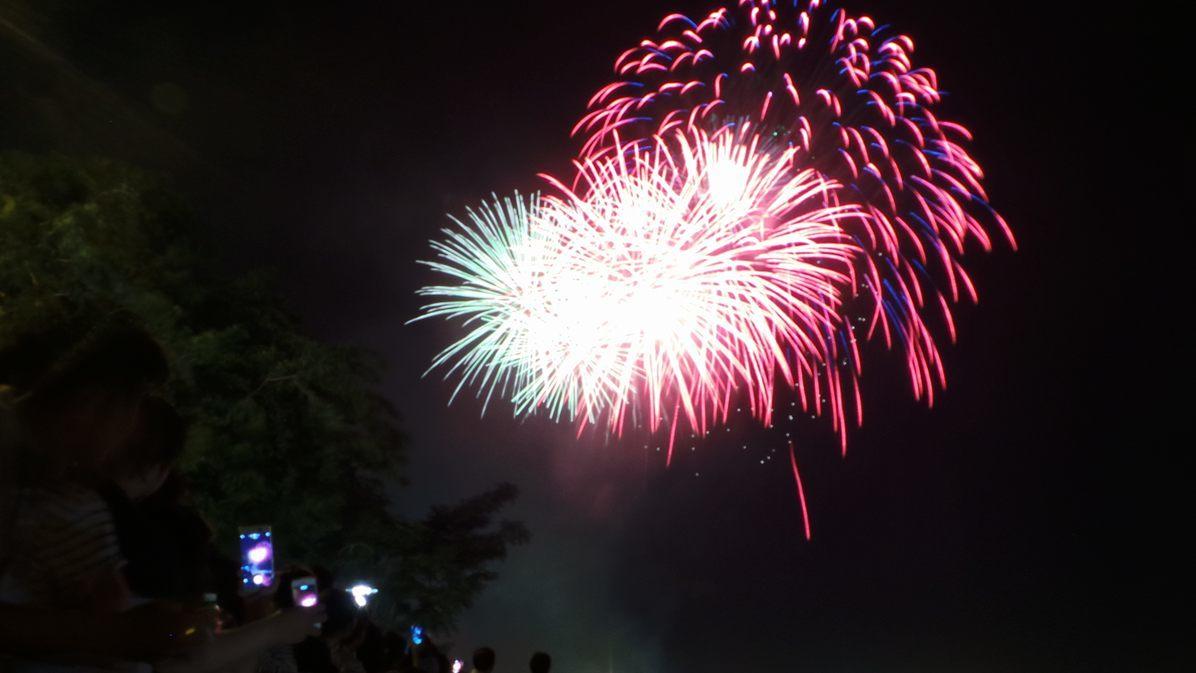 Người Sài Gòn chen chân xem bắn pháo hoa mừng Quốc Khánh