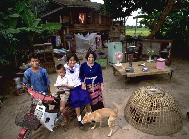 Cuộc sống gia đình ở khắp các nước trên thế giới 20 năm trước trông như thế nào?