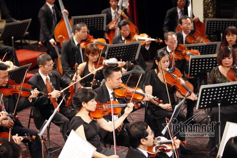 Hòa nhạc đa sắc tôn vinh nghệ thuật đỉnh cao