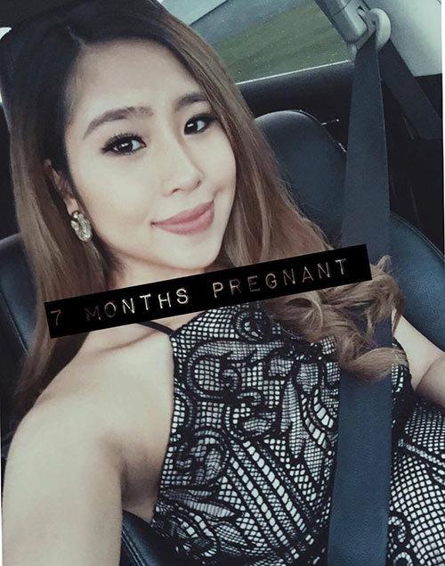 Cô gái Việt được chồng Tây chiều như nữ hoàng khi mang bầu