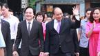 Thủ tướng dự khai giảng với học sinh khiếm thị