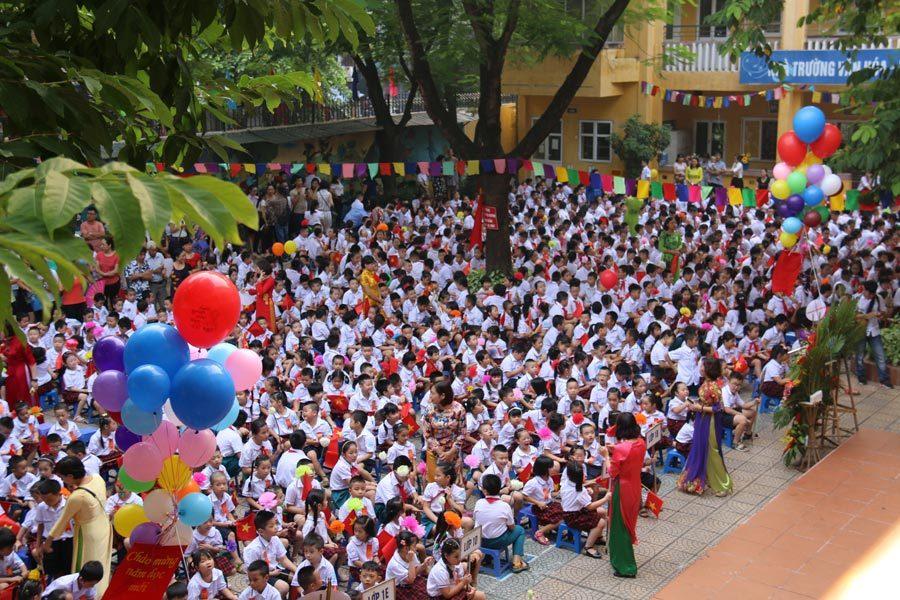 khai giảng, ngày khai giảng, ngày tựu trường, Vũ Đức Đam, Phó Thủ tướng Vũ Đức Đam, Trường Tiểu học Việt Nam - Cuba