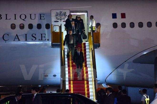 Tổng thống Pháp, François Hollande, tổng thống pháp thăm Việt Nam