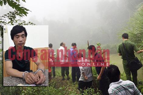 Thảm án ở Lào Cai, giết người, giết người ở Lào Cai, 4 người bị giết ở Lào Cai, thảm sát ở Lào Cai, huyện bát xát, thực nghiệm hiện trường, Tẩn Láo Lở