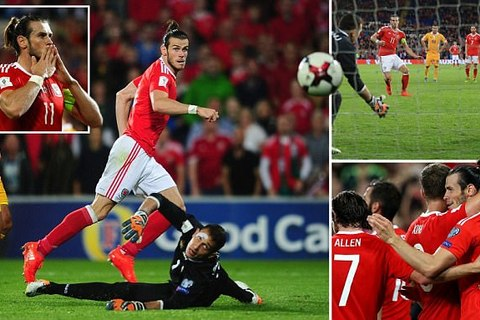 Bale rực sáng, xứ Wales thắng hủy diệt Moldova