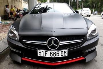 """Mercedes-Benz SL350 2014 biển """"ngũ quý"""" 6 khoe dáng tại Sài thành"""