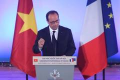 Tổng thống Pháp mong đón nhiều sinh viên sang học