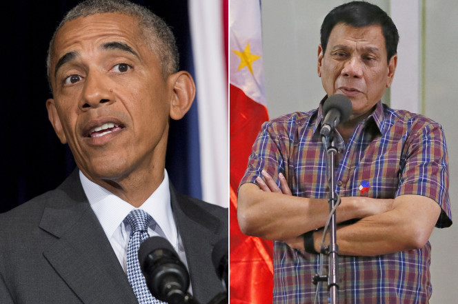 Tổng thống Philippines xin lỗi Obama