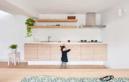 20160906151408 ngoi nha 7 Ngôi nhà 35m² với gác lửng ngập tràn ánh sáng tự nhiên của gia đình có con nhỏ