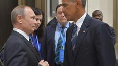 """Ánh mắt """"hình viên đạn"""" Obama dành cho Putin"""