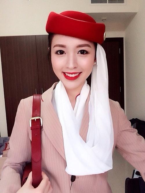 tiếp viên, tiếp viên hàng không, hot girl, nữ tiếp viên xinh đẹp