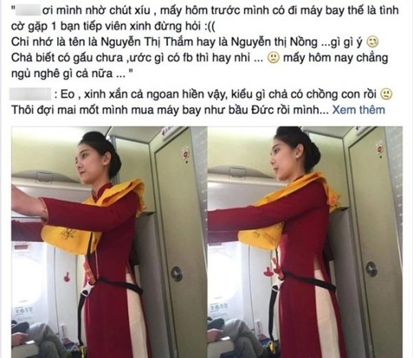 Nguyễn Thị Mai Ka  Mai Ka là nữ tiếp viên hàng không từng gây sốt khắp các diễn đàn, mạng xã hội với bức ảnh được một hành khách chụp lén. Được biết Mai Ka có tên đầy đủ là Nguyễn Thị Mai Ka, sinh năm 1994 tại Hà Nội, cô làm việc tại Vietnam Airlines được gần hai năm.