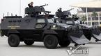 Dàn xe đặc chủng chống đạn của Cảnh sát cơ động HN