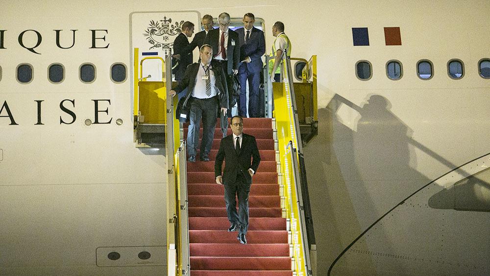 Chuyên cơ TT Pháp đắt hơn cả Air Force One của Obama