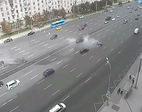 Siêu xe của Putin bị đâm, tài xế chết tại chỗ