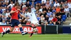 Rashford bùng nổ với hat-trick ở đội U21 Anh