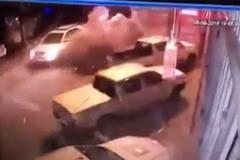 Giây phút vụ nổ 'xé toạc' con phố ở Phnom Penh