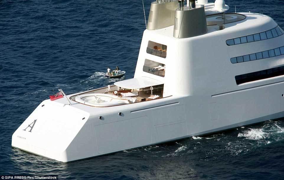 Đại gia Nga khoe du thuyền chống bom hơn 6 nghìn tỷ