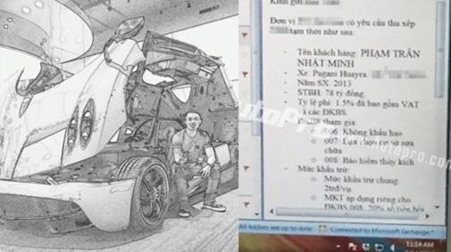 Đại gia Minh Nhựa tậu siêu xe Pagani Huayra 78 tỷ