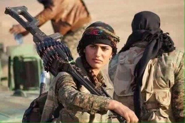 'Angelina Jolie người Kurd' thiệt mạng