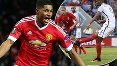 "Rashford ""cướp"" chỗ Martial ở trận derby Manchester"