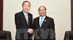 Thủ tướng Nguyễn Xuân Phúc hội kiến Tổng Thư ký LHQ