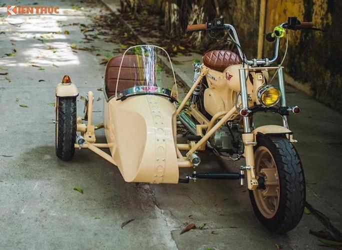 'Thuốc độc' Honda Super Cub độ xít đờ ca tại Hà Nội