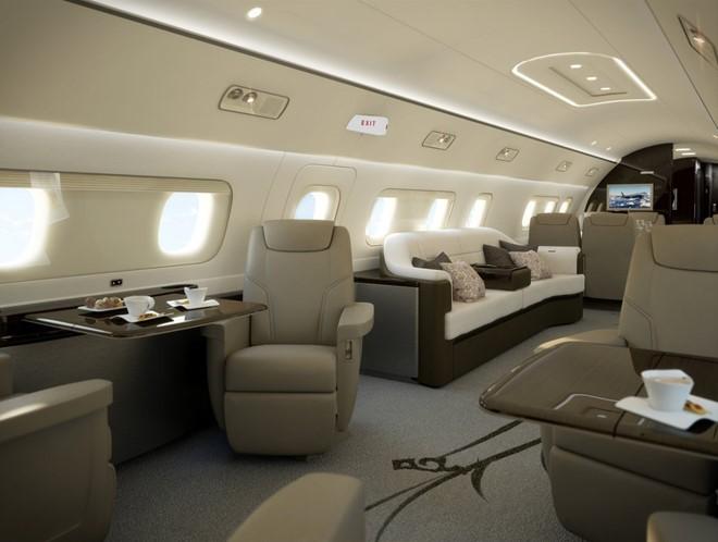Những phi cơ riêng chỉ dành cho giới siêu giàu