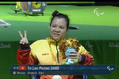 Thắng đối thủ Trung Quốc, đô cử Việt Nam giành huy chương Paralympic