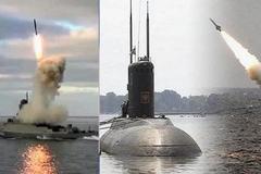 Xem Nga phóng tên lửa hành trình từ tàu chiến