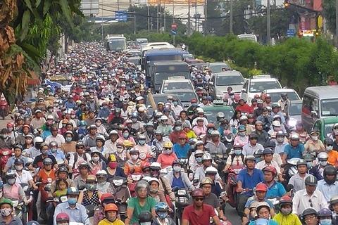 Giao thông Sài Gòn Phân làn