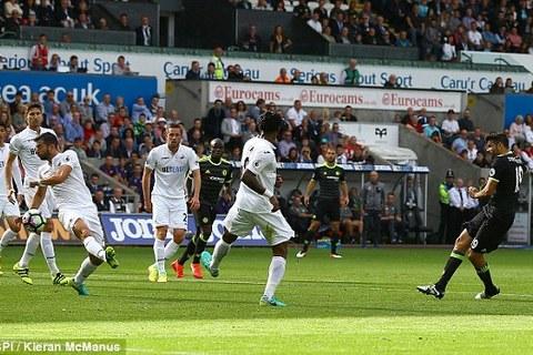 Diego Costa goal 18