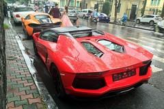 Siêu xe của đại gia Hà thành tấp nập trên phố