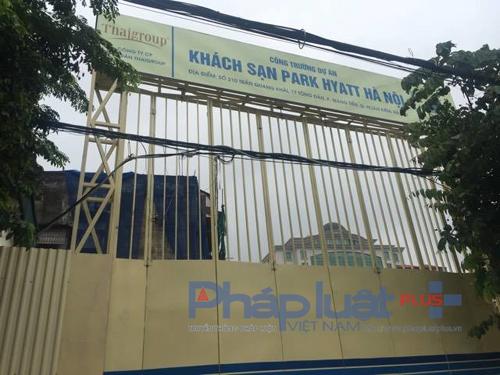 Dự án khách sạn Park Hyatt Hà Nội 'mập mờ' tính pháp lý, bầu Thụy đang toan tính điều gì?