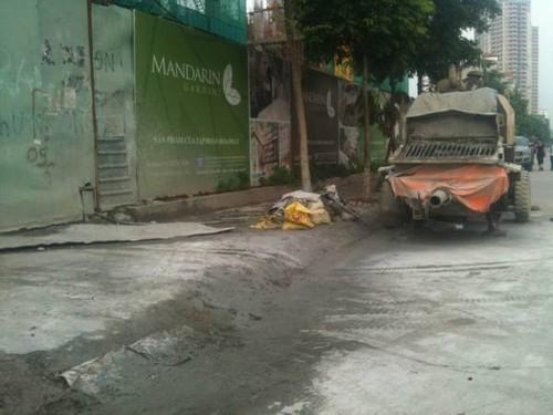 """""""Khiếp sợ"""" dự án Madarin Garden 2, dân bỏ nhà đi ở trọ"""