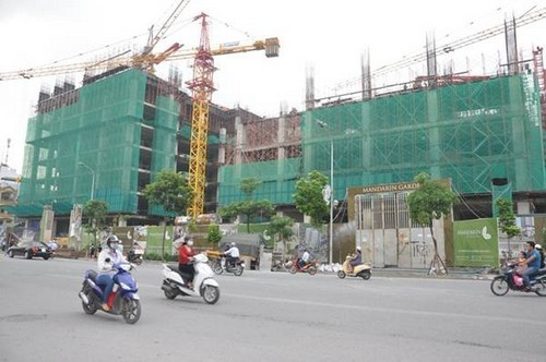 dự án Madarin Garden 2, dự án gây nứt nhà dân, Tập đoàn Hòa Phát